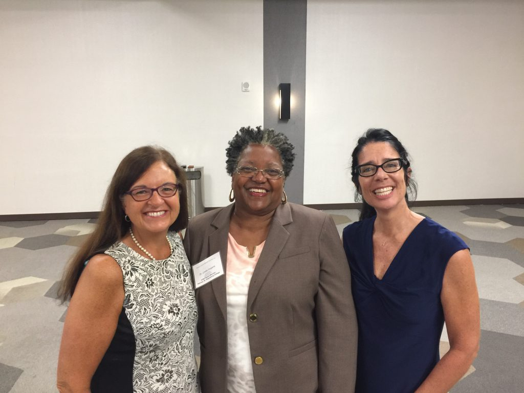 Sherri Kent-Roberts, Dr. Linda Hogan, and Dr. Meg Delgato at FFMT Conference in Orlando