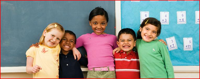 Five Elementary Children
