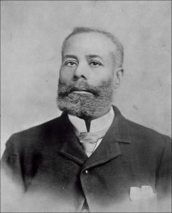 Portrait of Elijah Mccoy for African American History Month