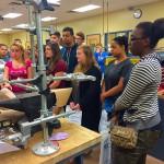 Orthotics and Prosthetics lab visit