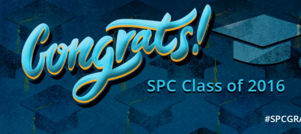 Congrats SPC Class of 2016 graphic