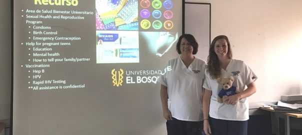 College of Nursing BSN Community Students make an impact with youth in Colombia