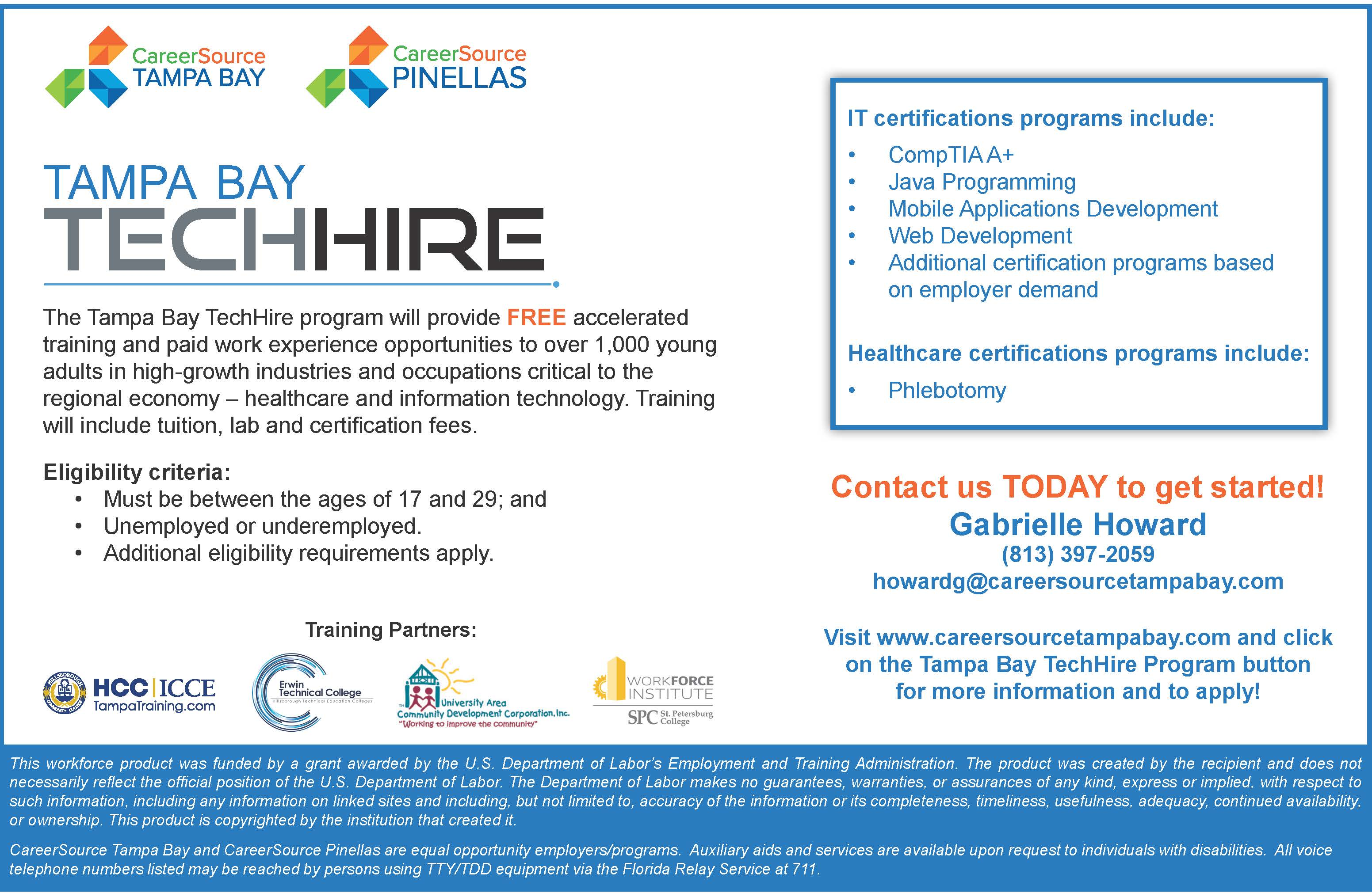 Certification Training Grants Available Health Sciences And