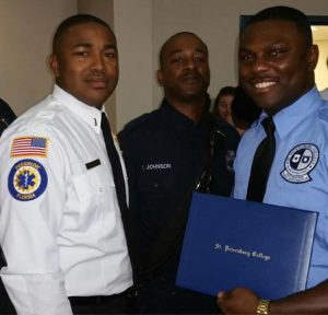 SPC Emergency Medical Technician graduate Carlton Green
