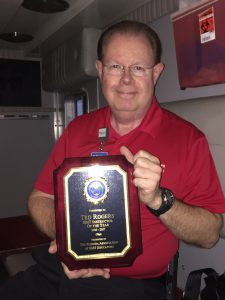 EMT Instructor of the Year Ted Rogers