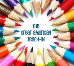 The Great American Teach In Graphic