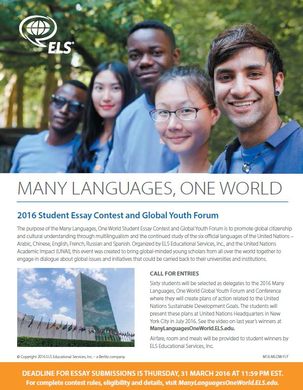 world urban youth assembly international essay competition