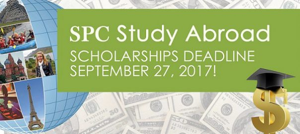 Study Abroad Scholarships Deadline September 27