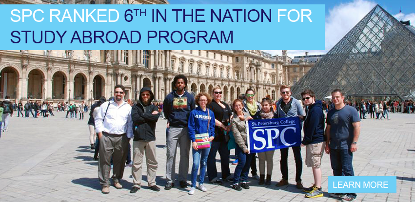 SPC Study Abroad Nationally Ranked