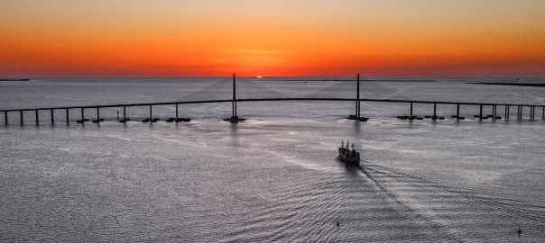 How Engineering Created the Sunshine Skyway Bridge in Florida