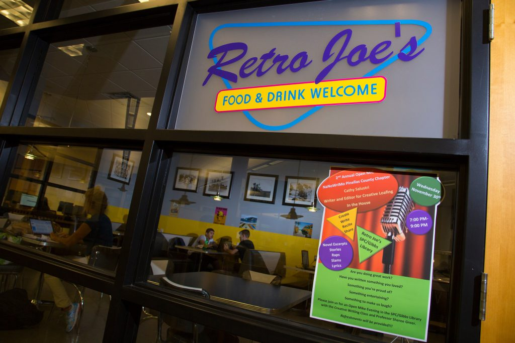 Vinyl Collection Donated to Retro Joe's at St. Pete Gibbs/Campus