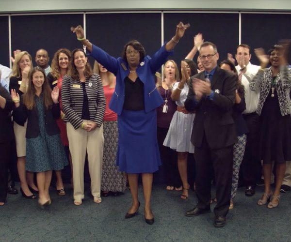 Accreditation team celebrates successful visit