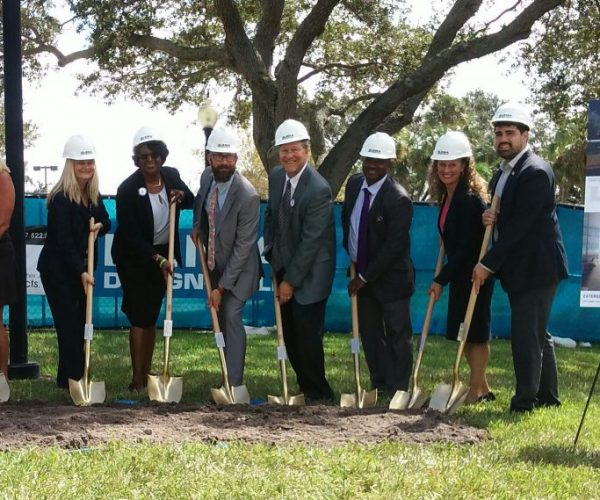 groundbreaking for SPC's new Student Groundbreaking held for Success Center on the St. Petersburg/Gibbs Campus