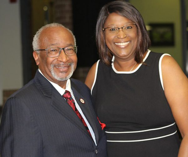 SPC President Tonjua Williams and Pinellas County Urban League CEO Rev. Watson L. Haynes