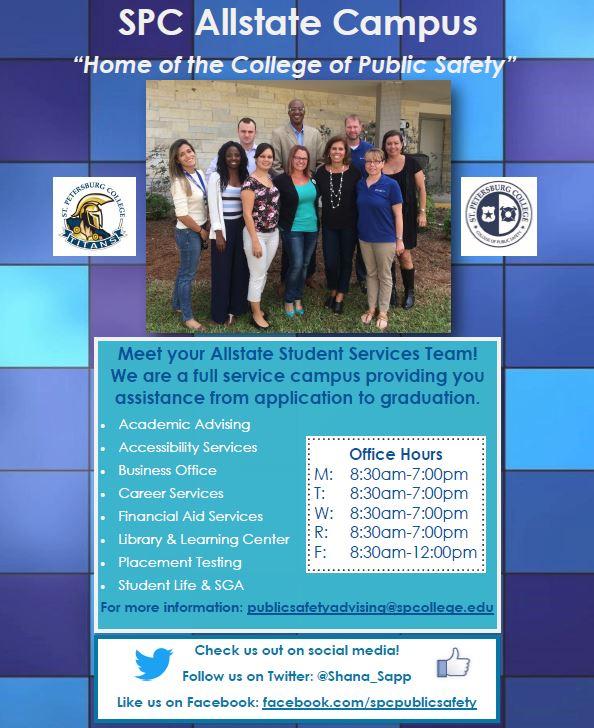 SPC Allstate – A Full Service Campus to serve YOU! - Public