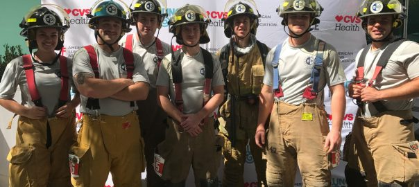 Fire Academy at the Tampa Stair Climb