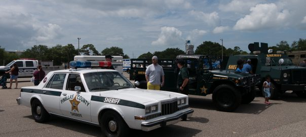 Pinellas County Sheriff cruiser at 3rd annual Touch-A-Truck