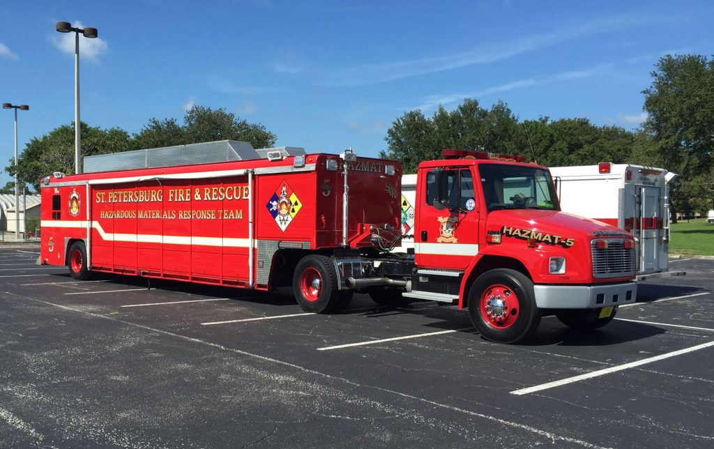 Hazardous materials emergency training for Pinellas County responders