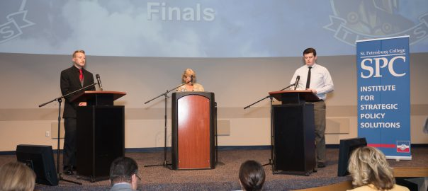 Students take part in SPC's Fourth Annual Great Debate
