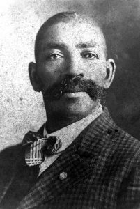 Portrait of Bass Reeves for African American History Month