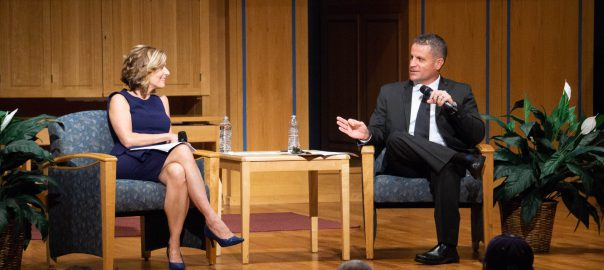Sharyl Attkisson and Nicholas Manias at Career and Academic Community event