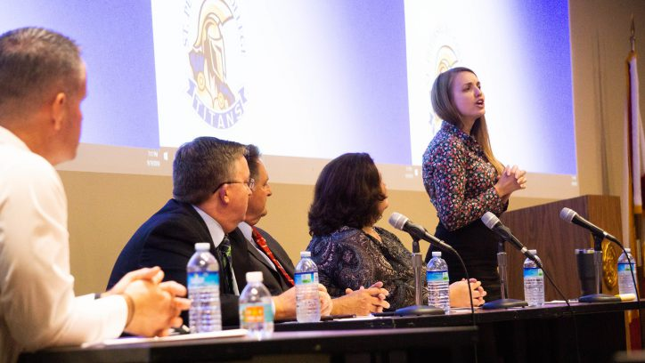 Public service career panel