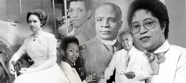 African American History Month banner for Mathematics