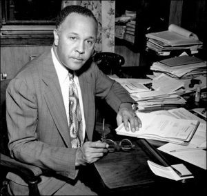 Portrait of Percy Julian for African American History Month