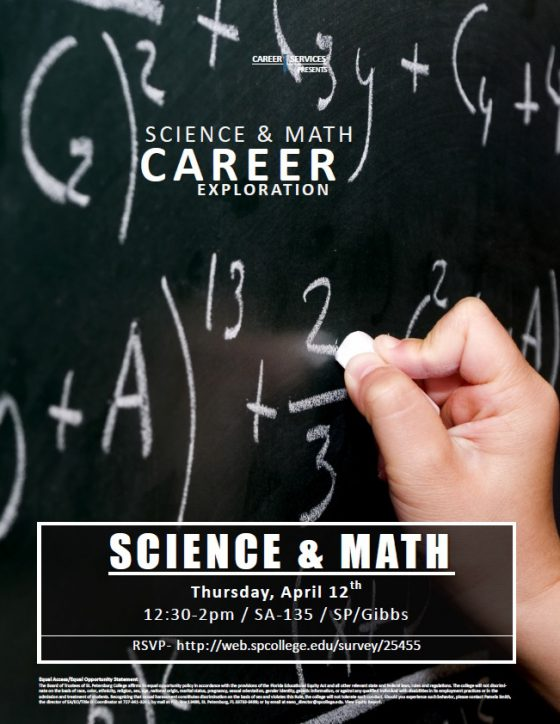 Science and Math Career Exploration Workshop
