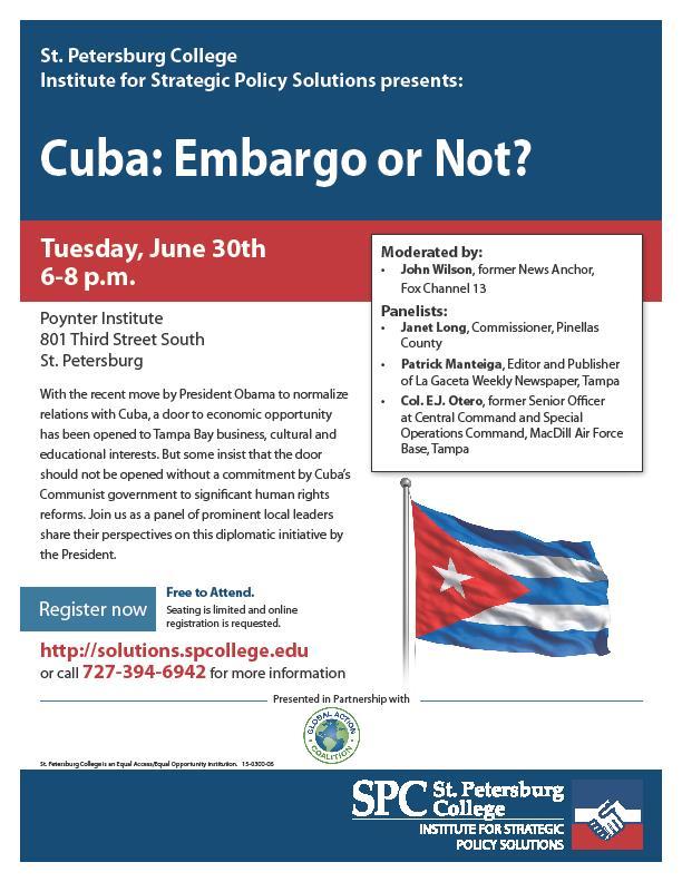 Cuba Forum Flyer
