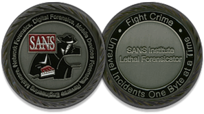IT Security Lethal Forensicator Coin