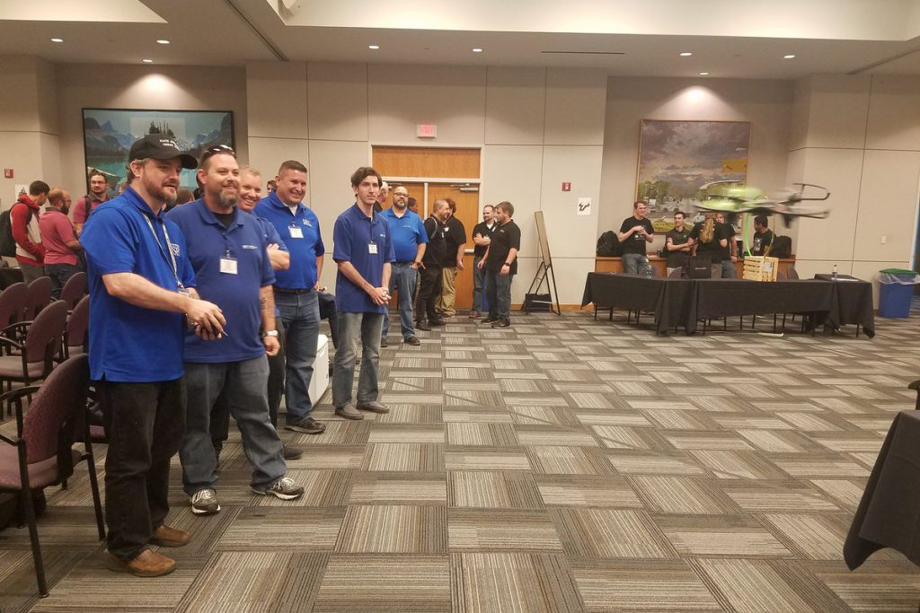SPC students participant in drone challenge at Raymond James cybersecurity competition