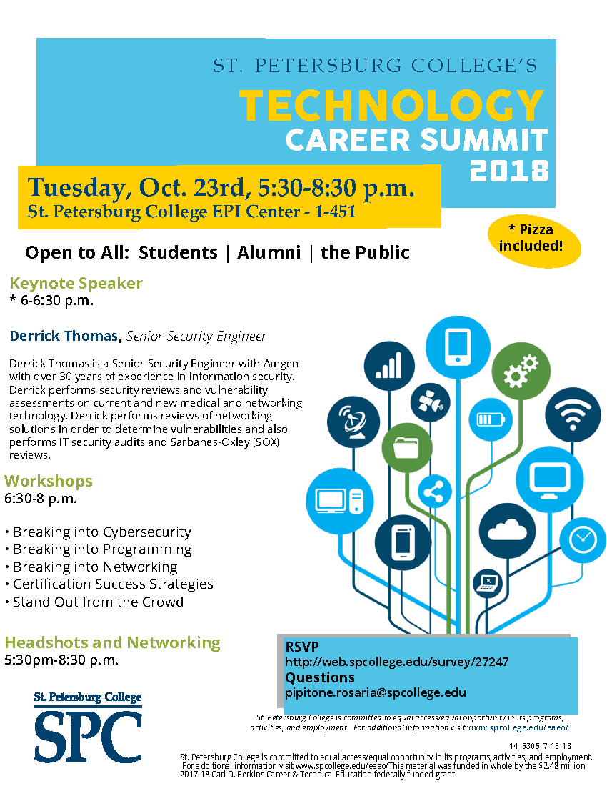 Spc Presents The Fall Technology Career Summit Technology