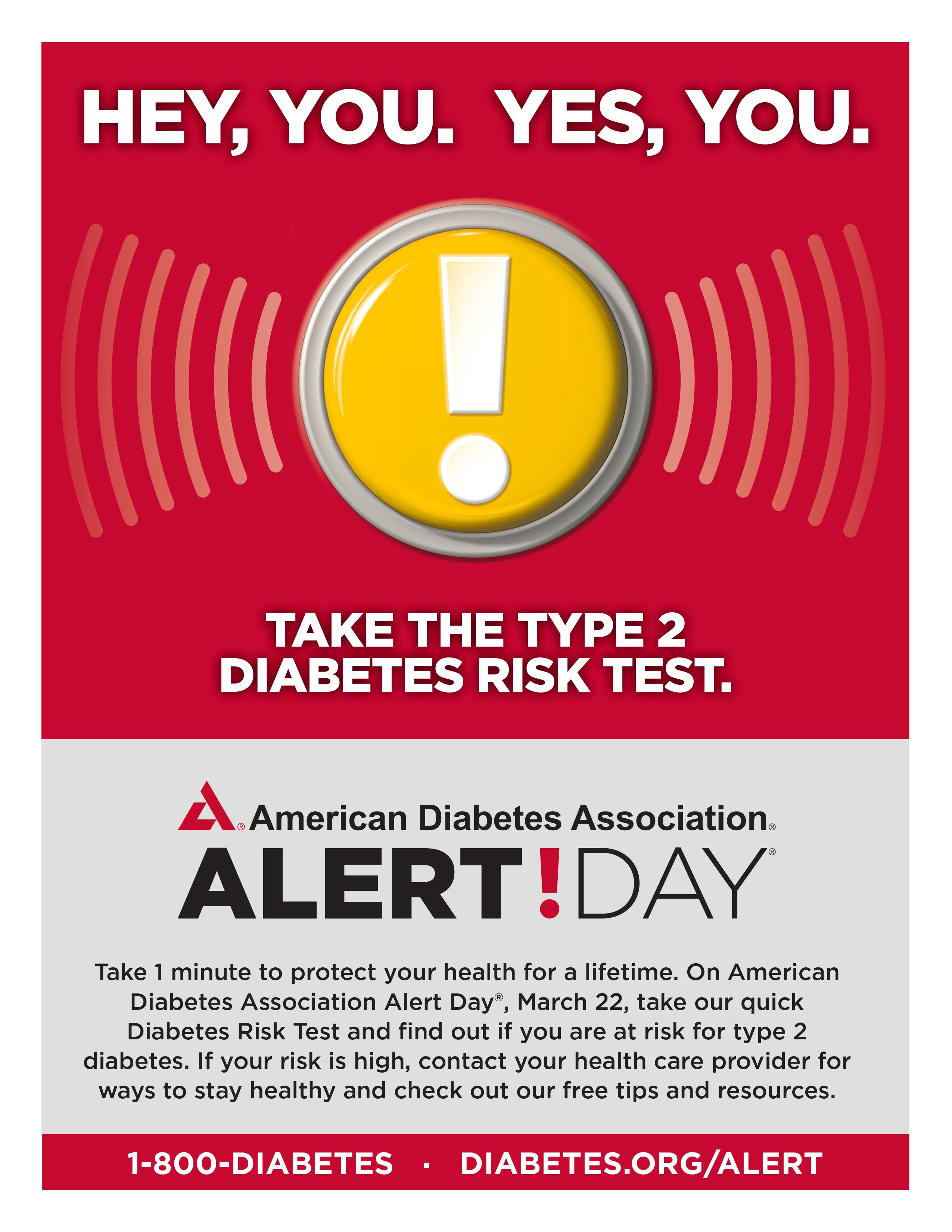 today is american diabetes association s alert day spc wellness